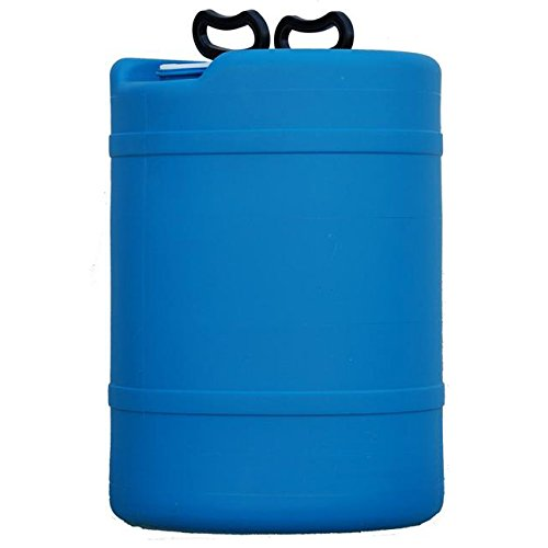 15 Gallon Emergency Water Storage Barrel - Preparedness Supply - Water Tank Drum Container - Portable, Reusable, BPA Free, Food Grade Plastic