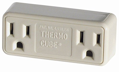 2 Pack Farm Innovators Model TC-3 Cold Weather Thermo Cube Thermostatically Controlled Outlet - On at 35-Degrees/Off at - Outlets At