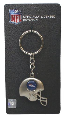Denver Broncos - NFL Silver Helmet Keychain