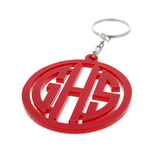 Initials Keychain - 5