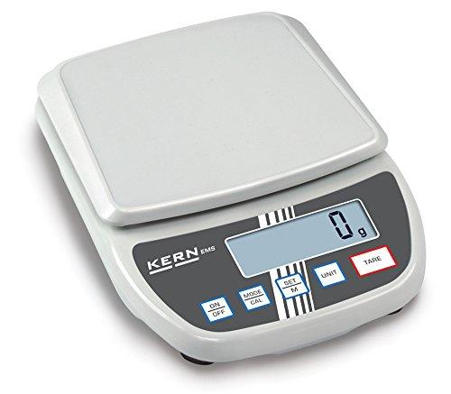 Balance de précision d'entrée de gamme à moindre coût avec un grand plateau de pesée [Kern EMS 6K0.1] Precision up to 0,1 g, Weighing range max. 0,1 g