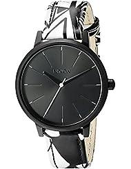 Nixon Womens A1082218-00 Kensington Leather Analog Display Japanese Quartz Multi-Color Watch