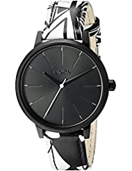 Nixon Women's A1082218-00 Kensington Leather Analog Display Japanese Quartz Multi-Color Watch