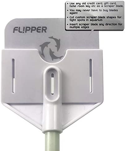 FL!PPER Flipper Platinum Aquarium Hand Scraper for Glass and Acrylic Fish Tanks