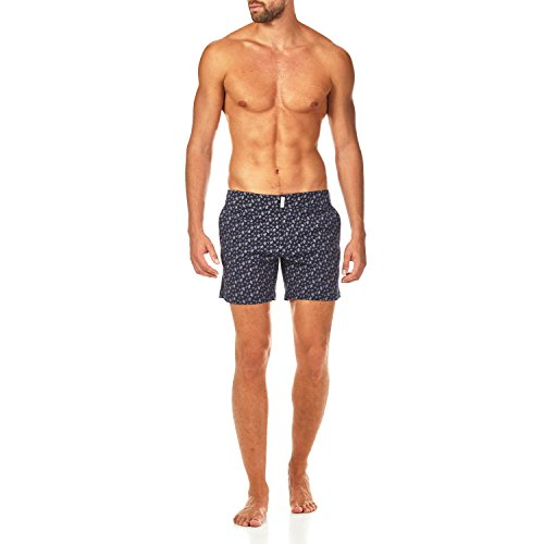 Vilebrequin Micro Ronde des Tortues Superflex Fitted cut Swim shorts - Men - navy - L by Vilebrequin