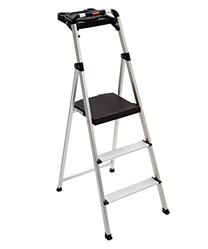 Prime Amazon Com Step Stool Heavy Duty 3 Step Aluminum Material Machost Co Dining Chair Design Ideas Machostcouk