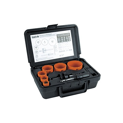 Bi-Metal Hole Saw Kit, 8-Piece Klein Tools 31902