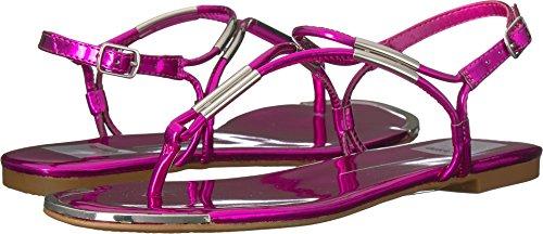 Dolce Vita Women's Marly Flat Sandal, Fuchsia, 8 UK/8 M US
