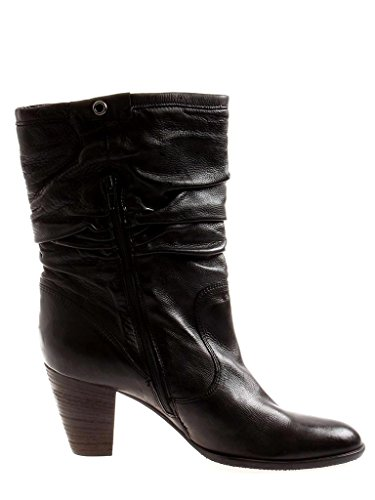 Leather Transitional 5413 Black Boots Shoes Isabelle Leather Ankle Shoes Ladies' RBtff