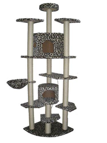 80″ Cat Tree Condo Furniture Scratch Post Pet House 38L, My Pet Supplies