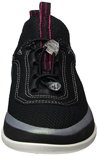 Basse Ecco black Light 50580black Donna Sneaker Sense black concrete Schwarz qqHtrF