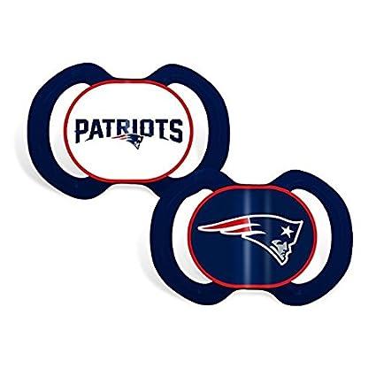 Amazon.com: New England Patriots logotipo del equipo bebé ...