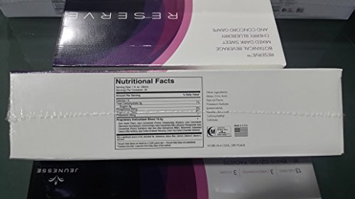 Pack-of-2 Boxes Jeunesse Reserve Antioxidant Botanical Fruit Blend -2x30 (1 Oz) Gel Packets by Reserve (Image #3)