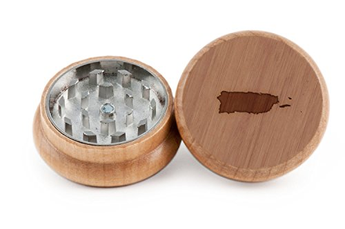 Puerto Rico Herb and Spice Grinder