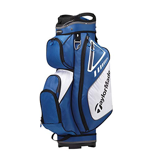 TaylorMade 2019 Golf Select Cart Bag, Blue/White ()