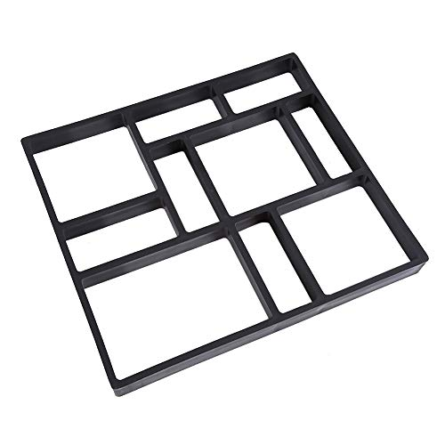 Garden Paving Mold Pathmate Stone Mold oncrete Stepping Mold for Pavement walkways Outdoor Improvements Tools (Ideas Garden South Africa Patio)