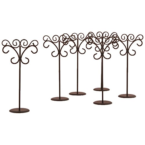 Ornamental Wire Table Card Holder Pack of 6 by David's Bridal