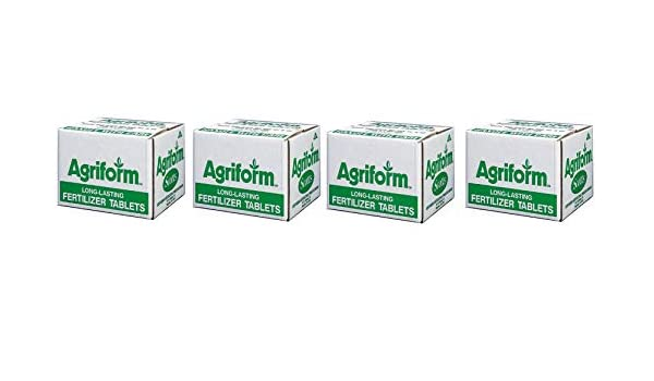 Everris 90805 Agriform Planting Tablets 20-10-5 with Minors New 1000 Free Shi