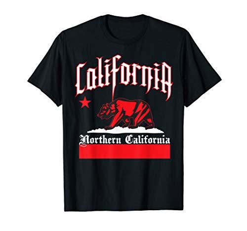 Mens CaliDesign Men's Northern California T-shirt Nor Cali