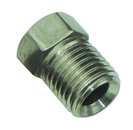 (3/8-24 Inverted Flare STAINLESS STEEL Tube Nut Fitting 3/16 Brake Line EA STN01 (D-3-4))