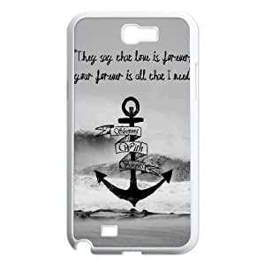 wugdiy New Fashion Cover Case for Samsung Galaxy Note 2 N7100 with custom Sleeping with Sirens
