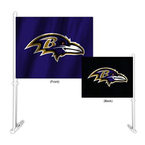 Fremont Die NFL Baltimore Ravens Home & Away Car Flag