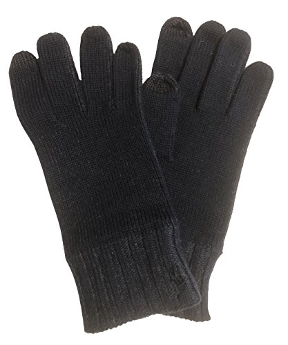 - Polo Ralph Lauren Men's Wool/Cotton Tech Gloves One Size Dark Grey