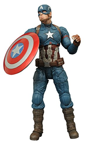 Captain+America Products : Diamond Select Toys Marvel Select: Captain America: Civil War: Captain America Action Figure