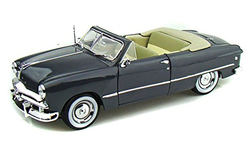 1949 Ford Convertible, Gray - Maisto 31682 - 1/18 Scale Diecast Model Toy Car 1949 Ford Convertible