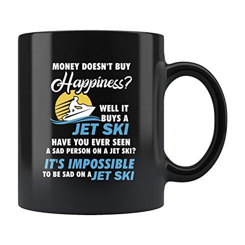 Mug Creatory - Jet Ski Gift, Jet Ski Mug, Jet Skier Gift, Jet Skier Mug, Jetski Gift, Jetski Mug, Jetskier Gift, Watercraft Mug, Money Buy Happiness, Coffee Mug 11oZ (Jet Ski Mug)