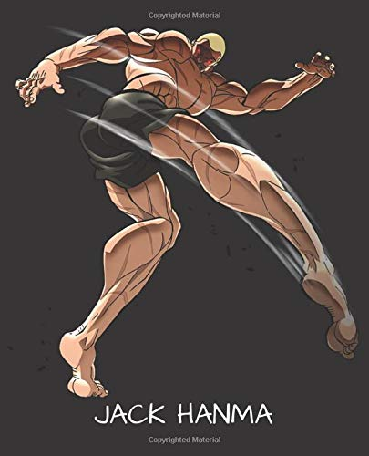 Jack Hanma Baki The Grappler Themed 7 5 X 9 25 Nifty Wide Ruled Workbook For Students Teens Kids For School College Home For Diary Writing Notes Notebook Cartoon 9781701114531 Amazon Com Books