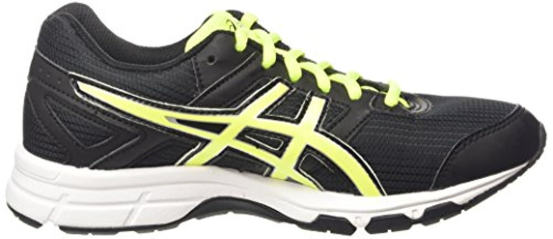 ASICS Gel-Galaxy 8 Gs, Unisex Kids' Running Shoes, Black (Black/Flash Yellow/White 9007), 2 UK