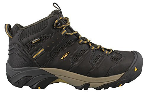 Keen Utility Men's Lansing Mid Waterproof Industrial and Construction Shoe