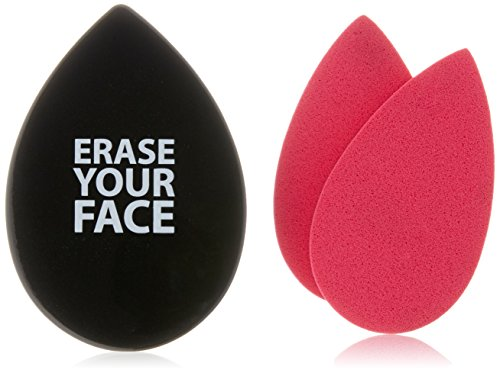 Danielle Creations Erase Your Face Blotting Sponge in Teardrop Compact Mirror
