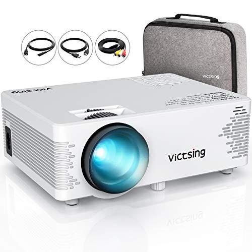 [해외]영사기 소형 LED 3800lm 케이스 부속 사다리꼴 보정 HDMIUSBVGASD 카드에 대응 【 5 년 보증 】 / Projector Small LED 3800lm Carrying Case Included Trapezoidal Correction HDMIUSBVGASD Card Compatible [5-year warrant