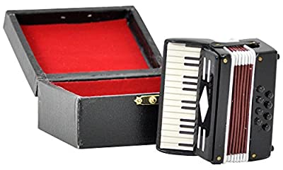 ?Accordion? 1/6 Scale Miniature Musical Instrument from SunRise