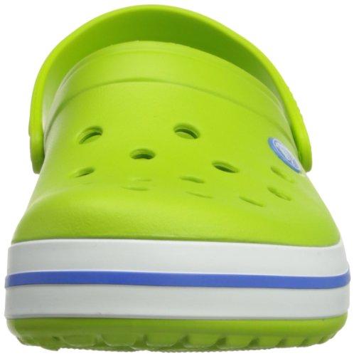 Blue Vert Sabots Crocband Crocs Green Mixte volt Adulte varsity Hp7qA