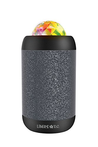 LiMiTeD Too LBT505BK Light Show Party Bluetooth Wireless Speaker with Lights Dance To The Music, Black