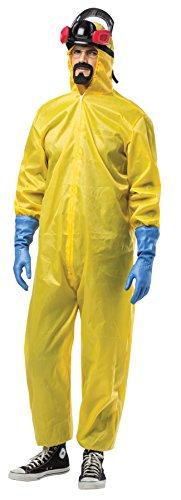 SALES4YA Mens Breaking Bad Toxic Suit Adult Costume Mens Costume ()