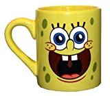 Nickelodeon SpongeBob Face 14-Ounce Ceramic Mug