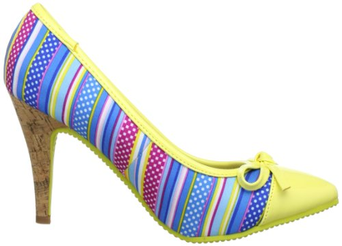 Dolly Do Pumps, Women's Pumps Yellow - Gelb (Yellow 03)