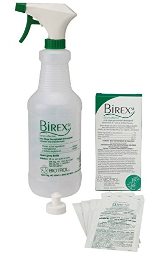Young BI048 Biotrol Birex SE One Step Germicidal Detergent Operatory Package, 1/8 oz. Packet (Pack of (Germicidal Detergent)
