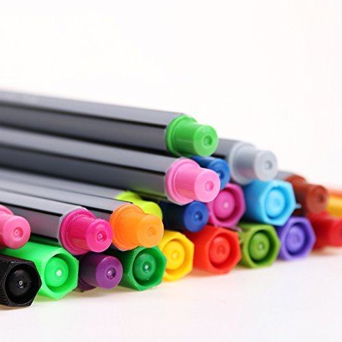 Colorful Pen Art Fine Professional Watercolor Pens Art Office Painting by Office & School Supplies YingYing (Image #3)