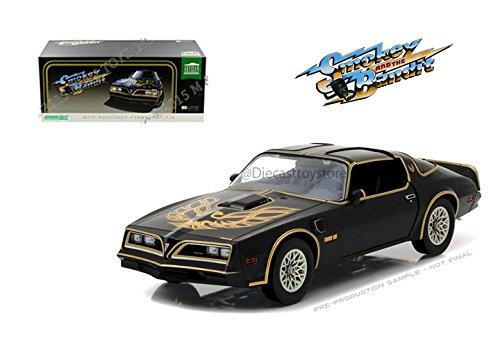 1977 Car (Greenlight 19025 1:18 1977 Pontiac Firebird Trans Am Smokey and the Bandit Artisan Collection)