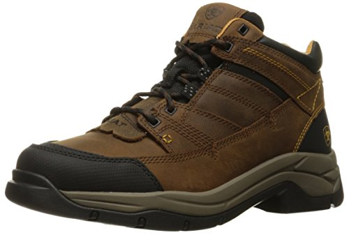 Ariat Men's Terrain Pro Hiking Boot, Bison, 10 D US