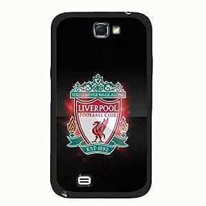 Liverpool FC Harmonious Elegant Logo Hard Plastic Case Cover for Samsung Galaxy Note 2 N7100