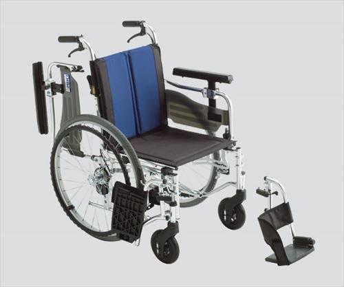 ミキ BAL-5 モジュール多機能 自走型車いす ブルー 40 B00Z9ELGN2