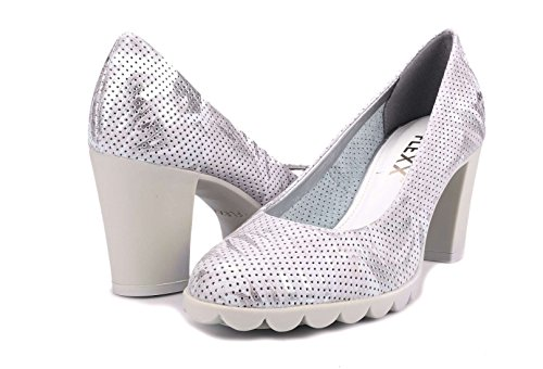 A701 MATIC Silver 17 decollet THE heel FLEXX woman shoes DIPLO with ARGENTO qYZZFS1f