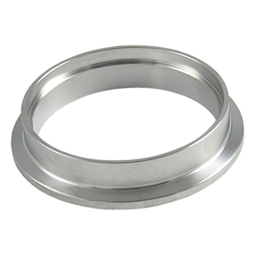 Precision Turbo Housing Outlet Flange for Dual V-Band PTE Housings - Stainless Steel (Housing V-band)