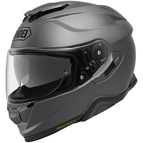 (Shoei GT-Air 2 Solid Street Motorcycle Helmet - Matte Deep Grey/Large)